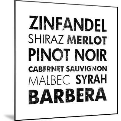 Red Wine III-Veruca Salt-Mounted Art Print