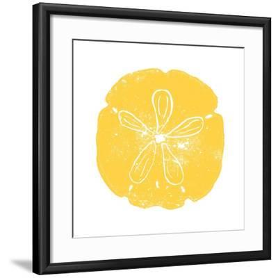 Yellow Sand Dollar-Veruca Salt-Framed Art Print