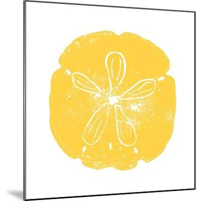 Yellow Sand Dollar-Veruca Salt-Mounted Art Print