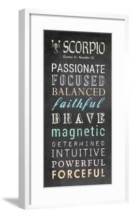 Scorpio Bus Roll-Veruca Salt-Framed Art Print