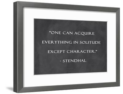 One Can Aquire-Veruca Salt-Framed Art Print