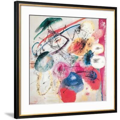 Black Lines-Wassily Kandinsky-Framed Giclee Print