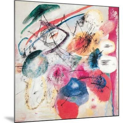 Black Lines-Wassily Kandinsky-Mounted Giclee Print