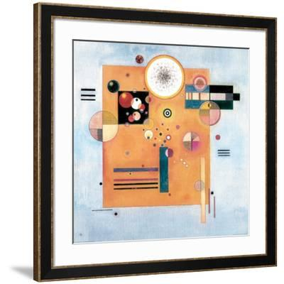 Sanfter Nachdruck-Wassily Kandinsky-Framed Giclee Print