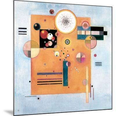 Sanfter Nachdruck-Wassily Kandinsky-Mounted Giclee Print