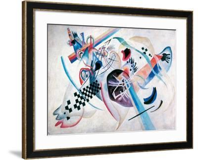 Composition N. 224, On the white-Wassily Kandinsky-Framed Giclee Print