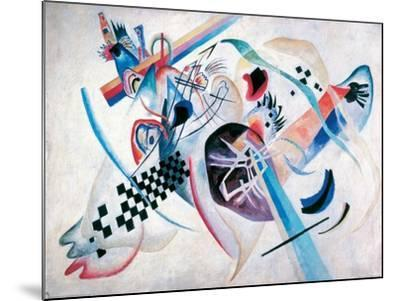 Composition N. 224, On the white-Wassily Kandinsky-Mounted Giclee Print
