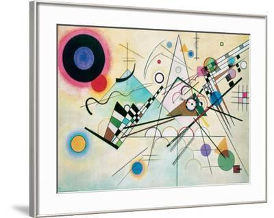Composition VIII-Wassily Kandinsky-Framed Giclee Print