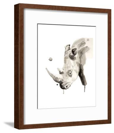 Rhino-Philippe Debongnie-Framed Art Print