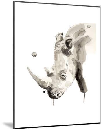 Rhino-Philippe Debongnie-Mounted Art Print