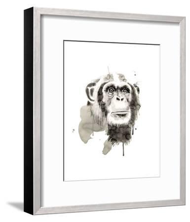 Chimp-Philippe Debongnie-Framed Art Print