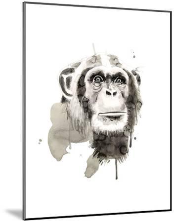 Chimp-Philippe Debongnie-Mounted Art Print