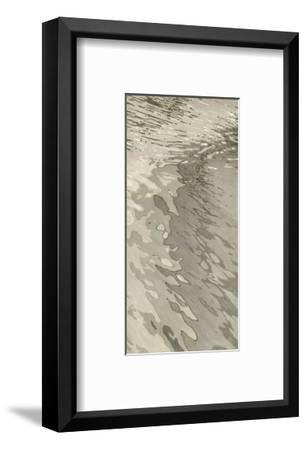 Edge of the Beach-Margaret Juul-Framed Art Print