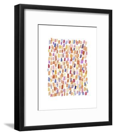 Series Rain No. I-Louise van Terheijden-Framed Art Print
