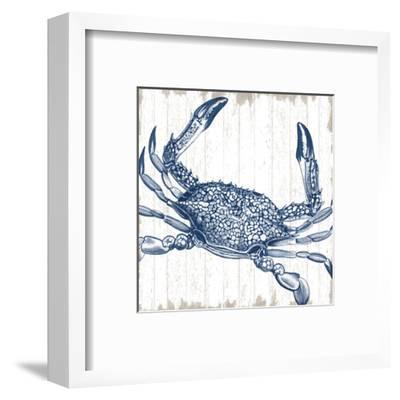 Seaside Crab-Sparx Studio-Framed Art Print