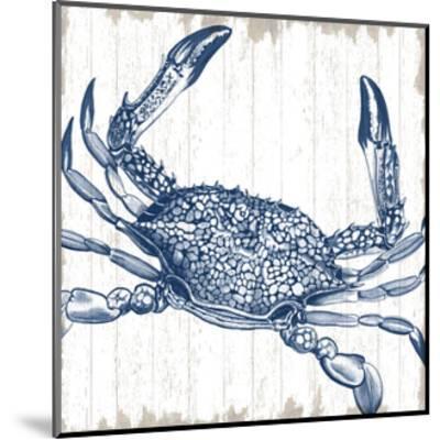 Seaside Crab-Sparx Studio-Mounted Art Print