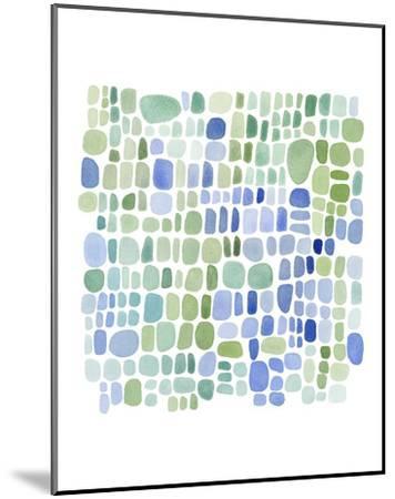 Series Sea Glass No. II-Louise van Terheijden-Mounted Art Print