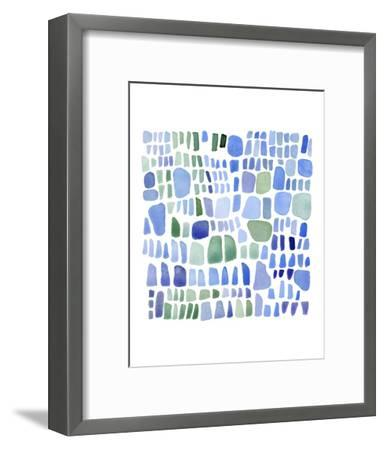 Series Sea Glass No. IV-Louise van Terheijden-Framed Art Print