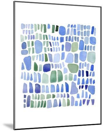 Series Sea Glass No. IV-Louise van Terheijden-Mounted Art Print