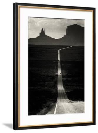 Desert Highway-Hakan Strand-Framed Giclee Print