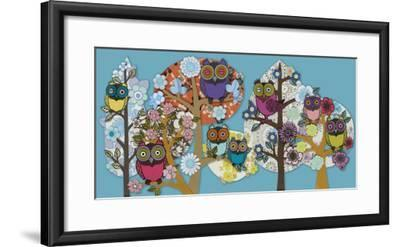 Owl Stock-Helen Musselwhite-Framed Giclee Print