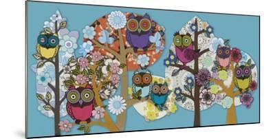 Owl Stock-Helen Musselwhite-Mounted Giclee Print