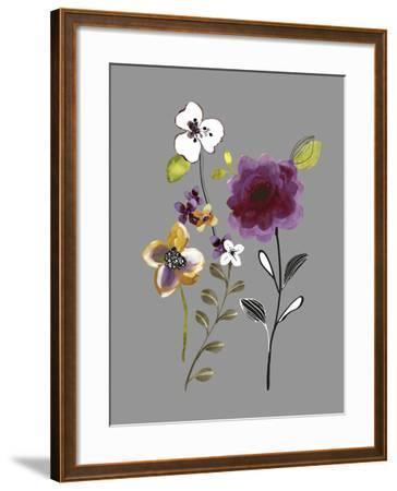 City Flowers IV-Sandra Jacobs-Framed Giclee Print