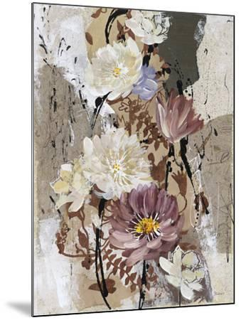 Floral Flair II-Bridges-Mounted Giclee Print