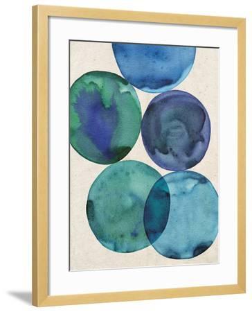 Oceans I-Belle Poesia-Framed Giclee Print