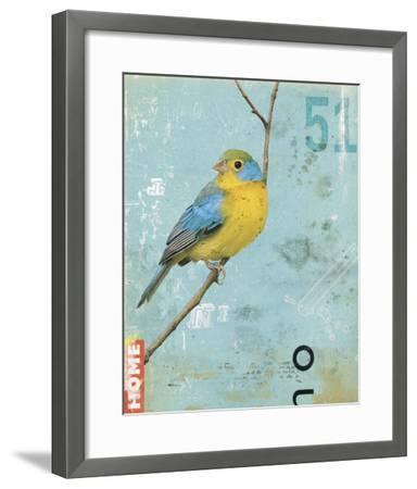 Bird II-Kareem Rizk-Framed Giclee Print