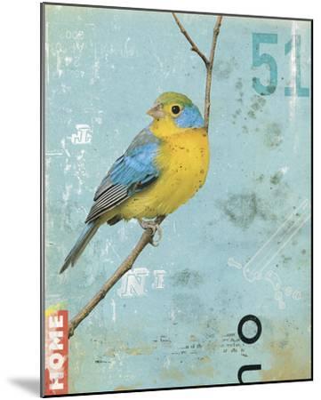 Bird II-Kareem Rizk-Mounted Giclee Print
