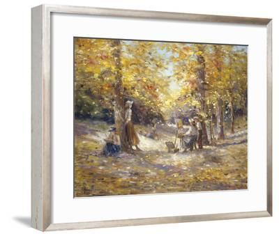Autumn Paint Out-Judy Talacko-Framed Giclee Print