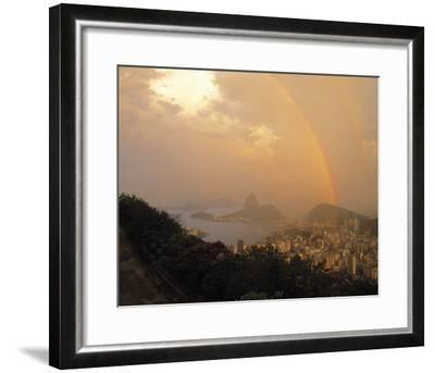 Rio Rainbow-Bent Rej-Framed Giclee Print