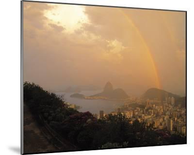 Rio Rainbow-Bent Rej-Mounted Giclee Print