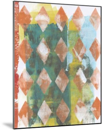 Harlequin Abstract III-Naomi McCavitt-Mounted Giclee Print