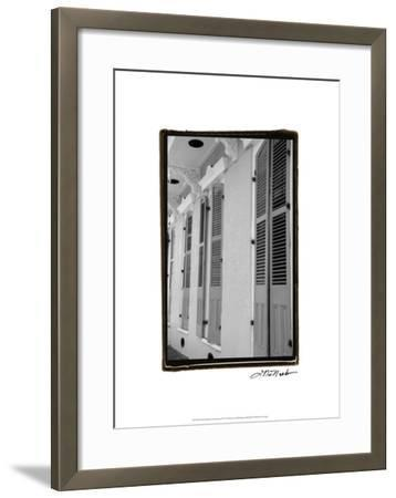 French Quarter Architecture IV-Laura Denardo-Framed Premium Giclee Print