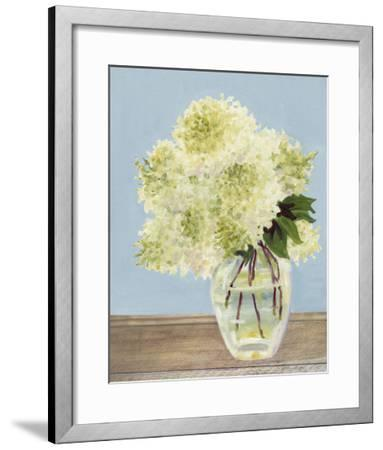 Hydrangea Vase II-Dianne Miller-Framed Art Print