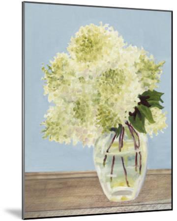 Hydrangea Vase II-Dianne Miller-Mounted Art Print