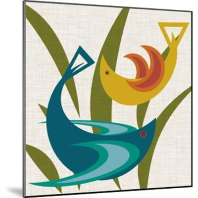 Avian Abstraction I-Sharon Chandler-Mounted Art Print