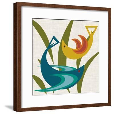 Avian Abstraction I-Sharon Chandler-Framed Art Print