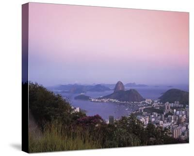Beautiful Rio-Bent Rej-Stretched Canvas Print
