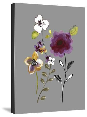City Flowers IV-Sandra Jacobs-Stretched Canvas Print