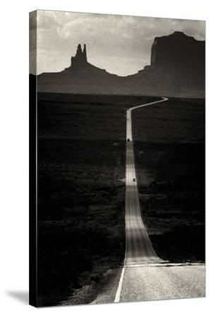 Desert Highway-Hakan Strand-Stretched Canvas Print