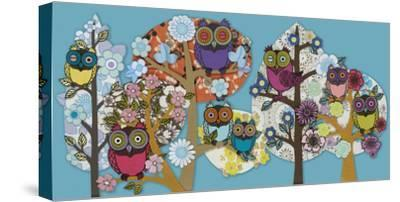 Owl Stock-Helen Musselwhite-Stretched Canvas Print
