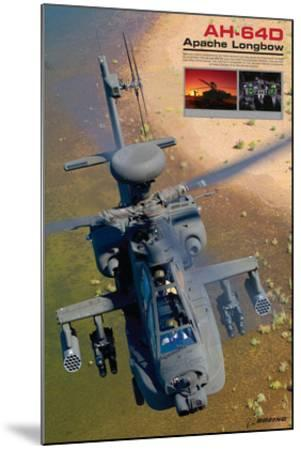 AH-64D Apache Longbow--Mounted Art Print
