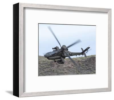 AH-64E Apache helicopter--Framed Premium Giclee Print