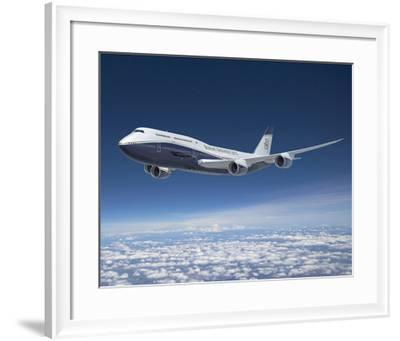 BBJ MAX 8 based on the 737 MAX 8--Framed Premium Giclee Print