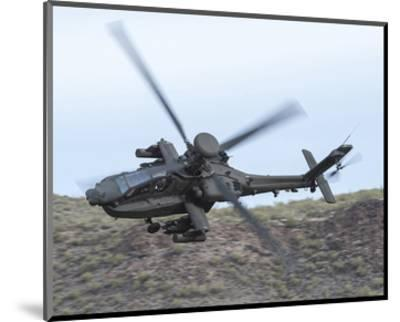 AH-64E Apache helicopter--Mounted Art Print