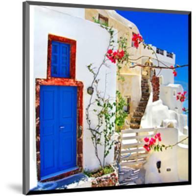 Blue SantoriniII--Mounted Art Print