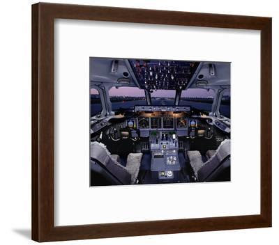 Boeing 717 regional twinjet--Framed Art Print